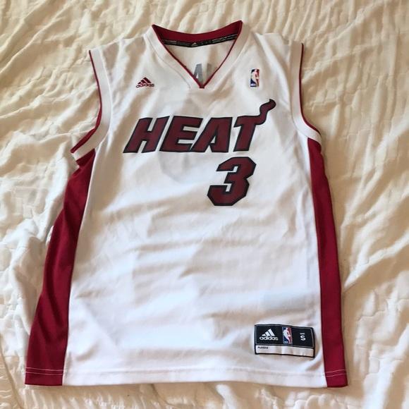 brand new 96de6 d61cf Brand New Miami Heat Dwayne Wade White Jersey